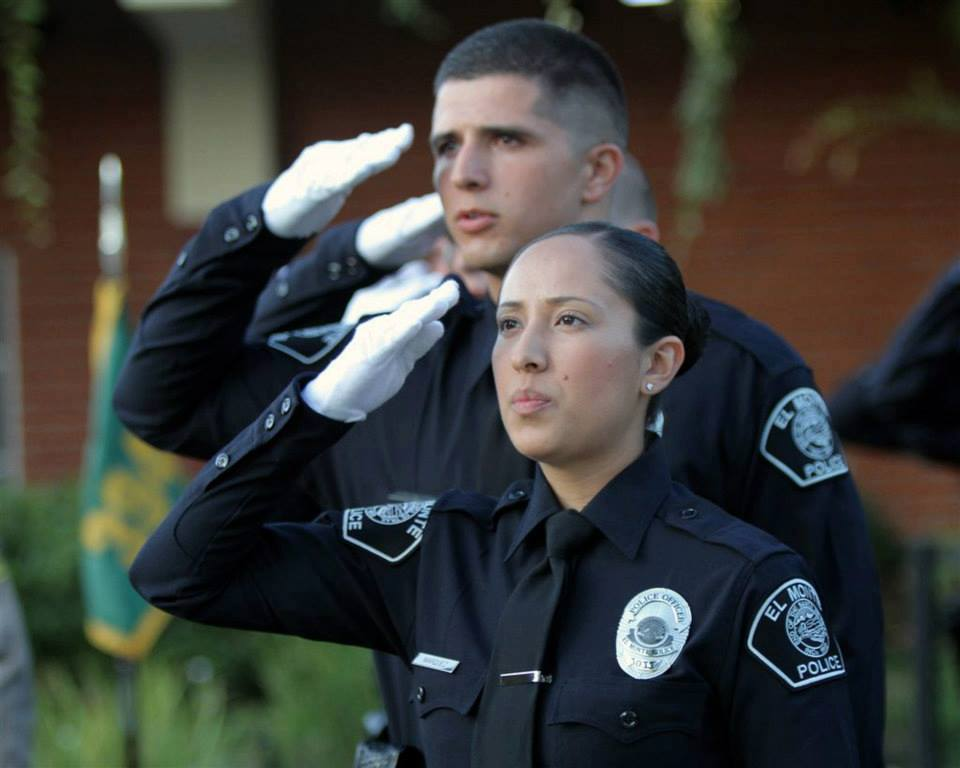 Officers Saluting 1