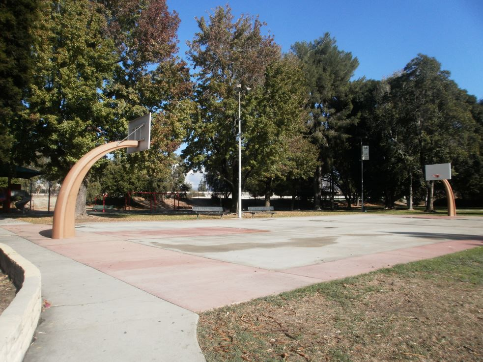 Image of Fletcher Park Basketball Courts