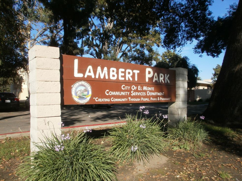 Image of Lambert Park Sign