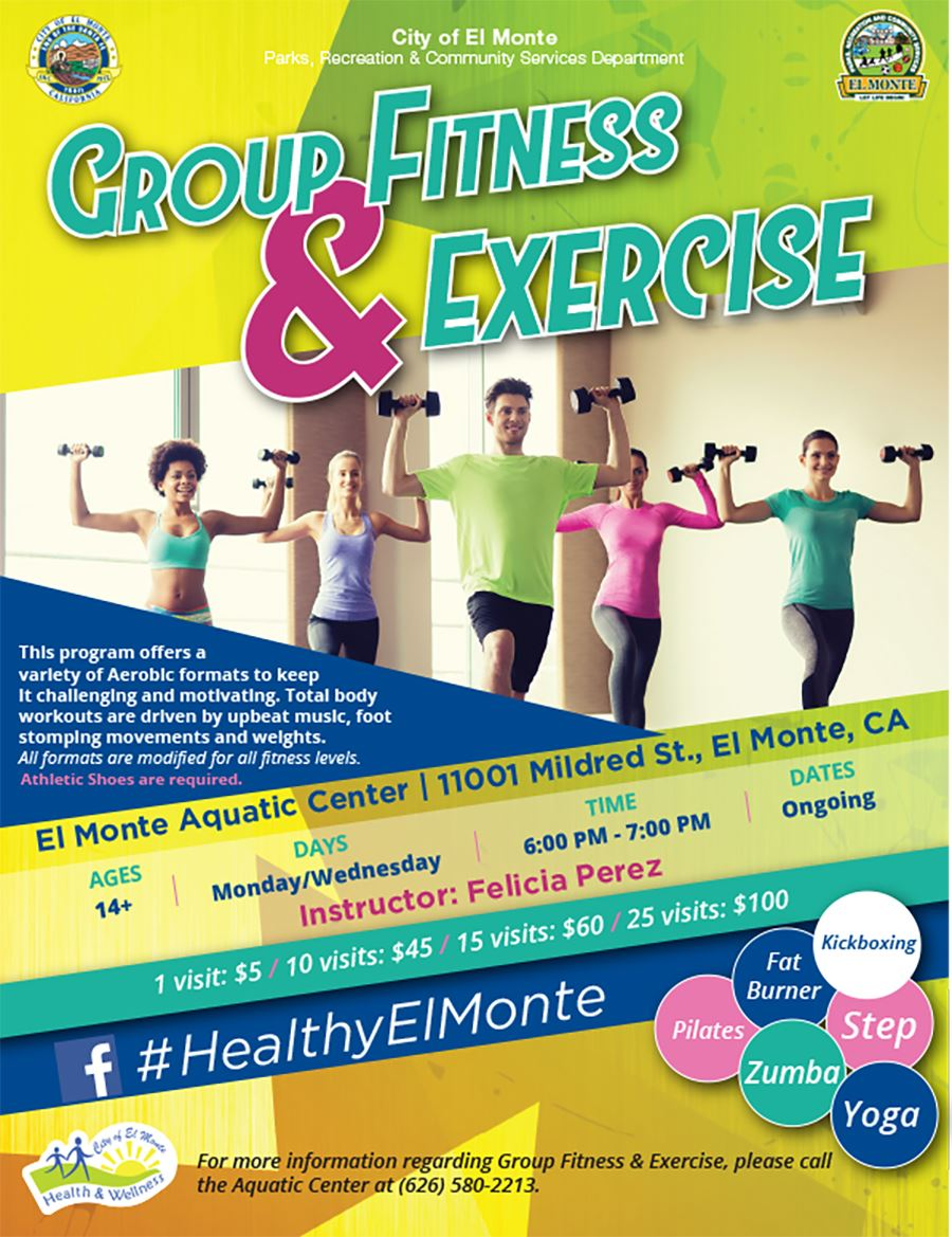 The Group Fitness Exercise Flyer