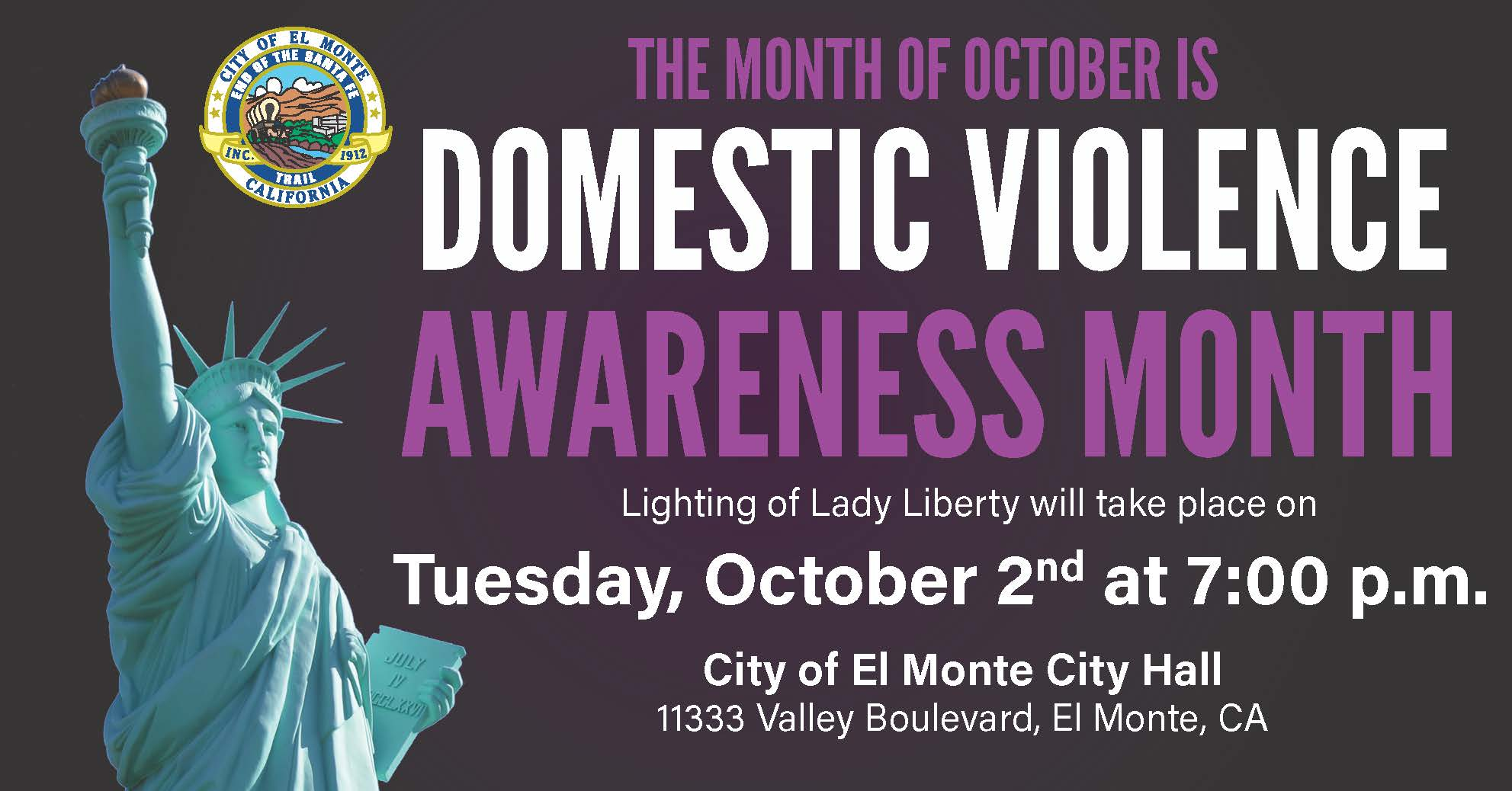 2018 Domestic Violence Awareness Month