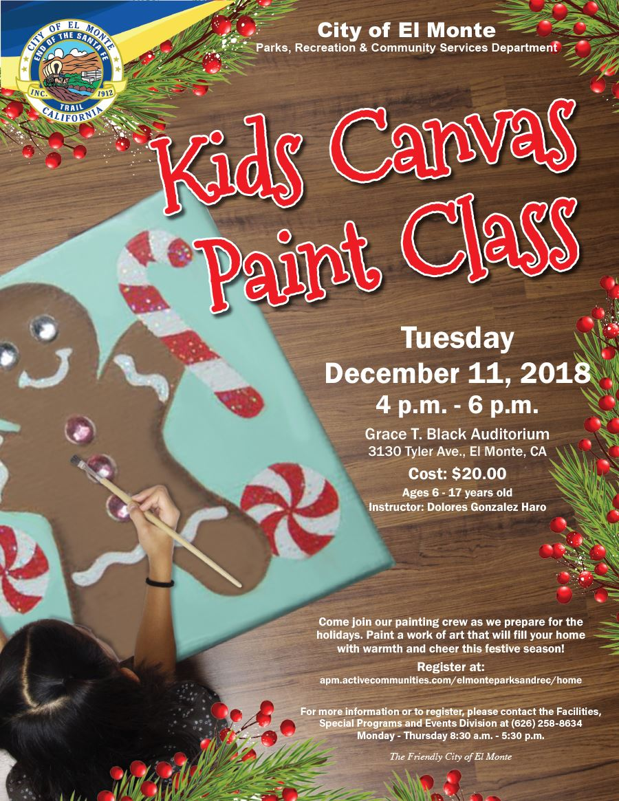 2018_Kids_Canvas_Paint_Flyer_Holiday_B