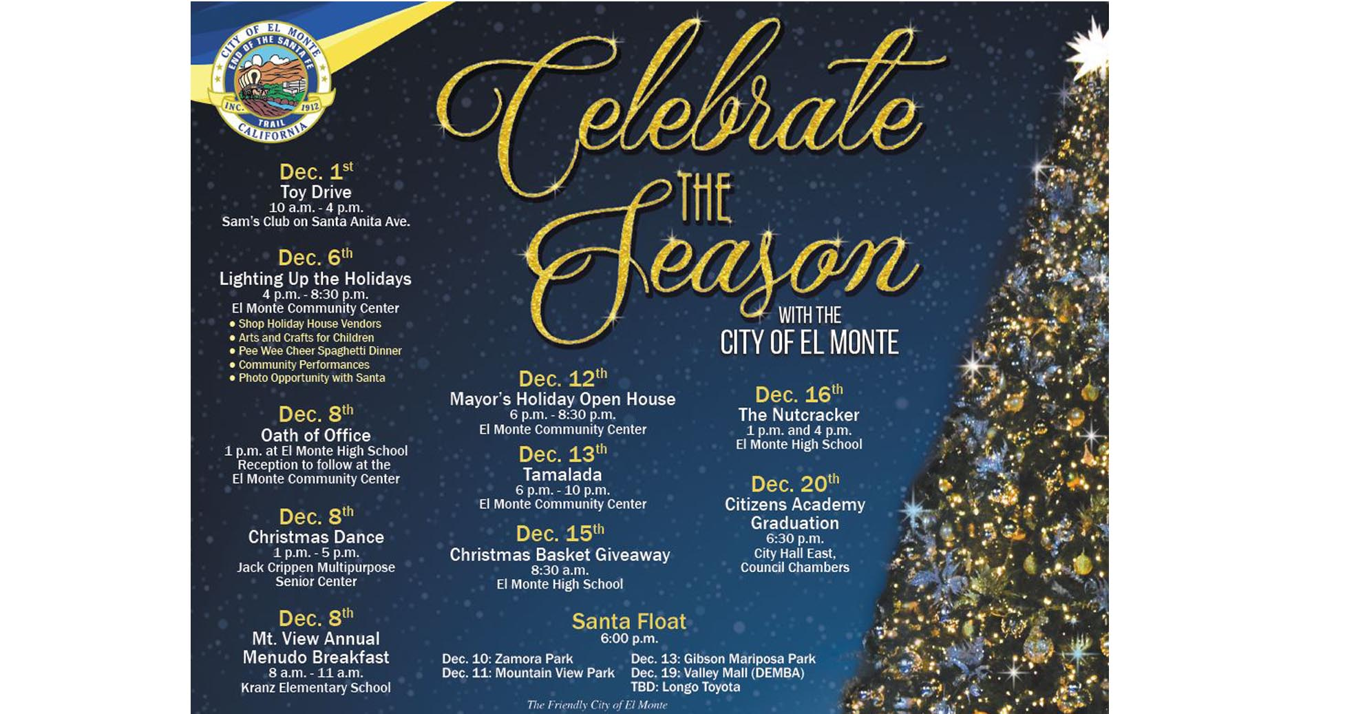 Celebrate Holidays with El Monte