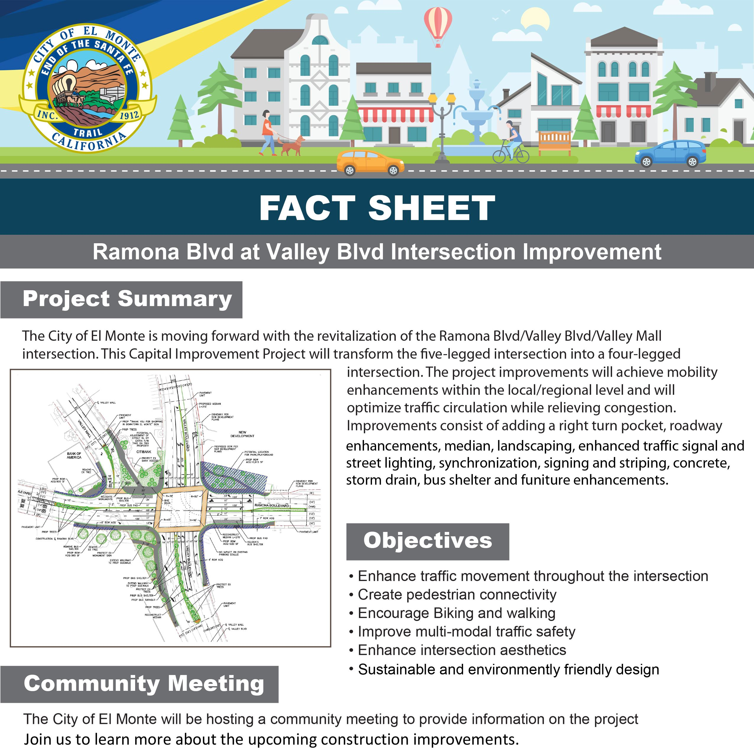 fact sheet - Ramona blvd at Valley blvd intersection improvement-1Web