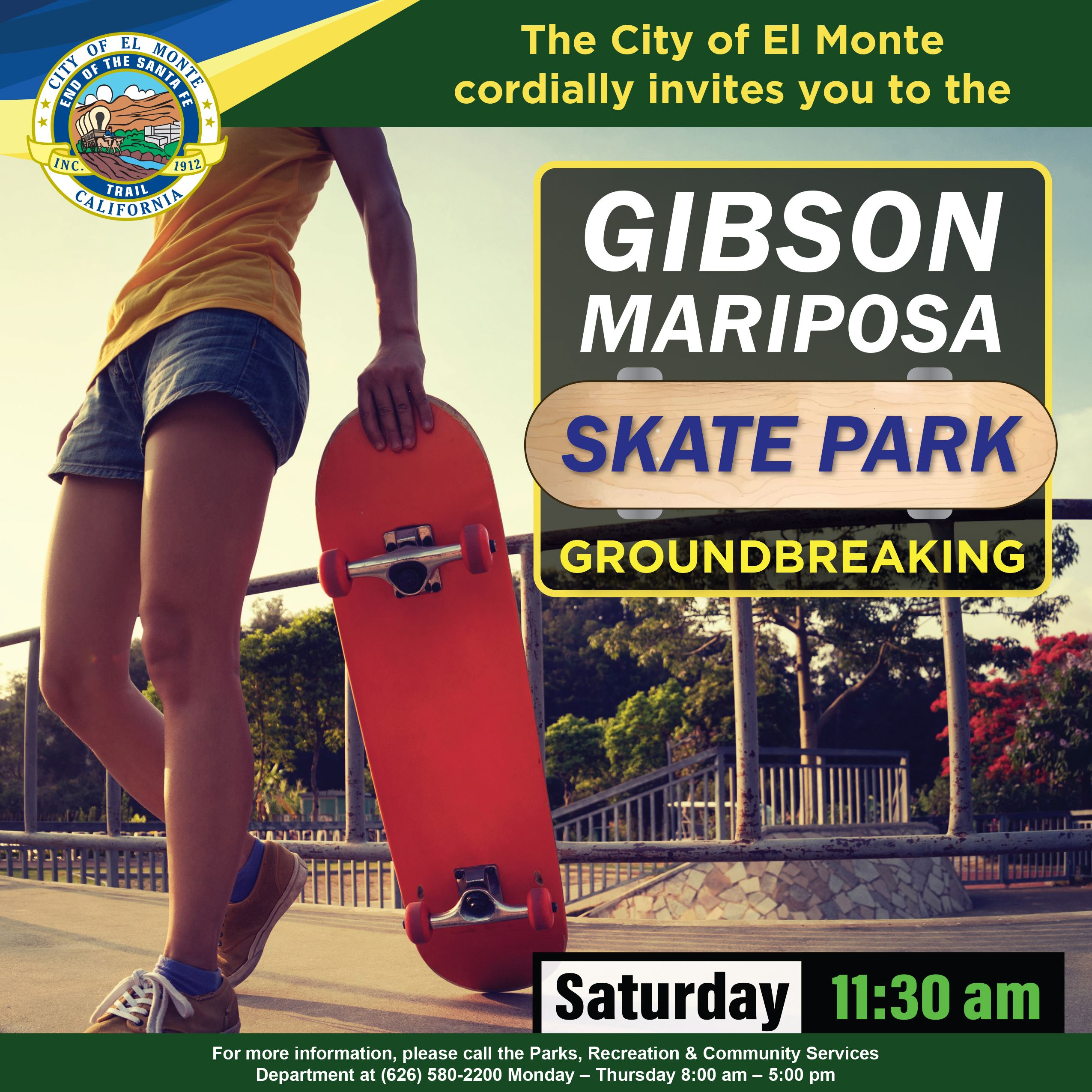 Flyer - Gibson Mariposa Skate Park Groundbreaking 02122020_edit 05 Web