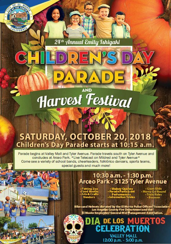 2018-Childrens Day Parade - Harvest Festival