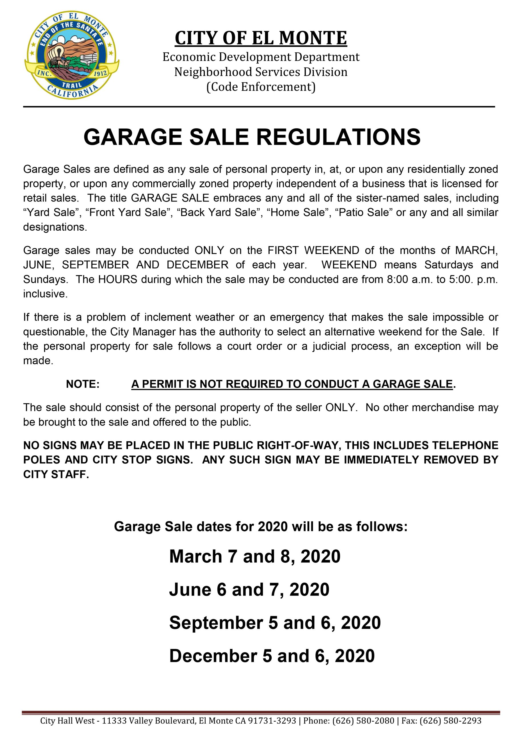Yard Sale Flyer 2020-1