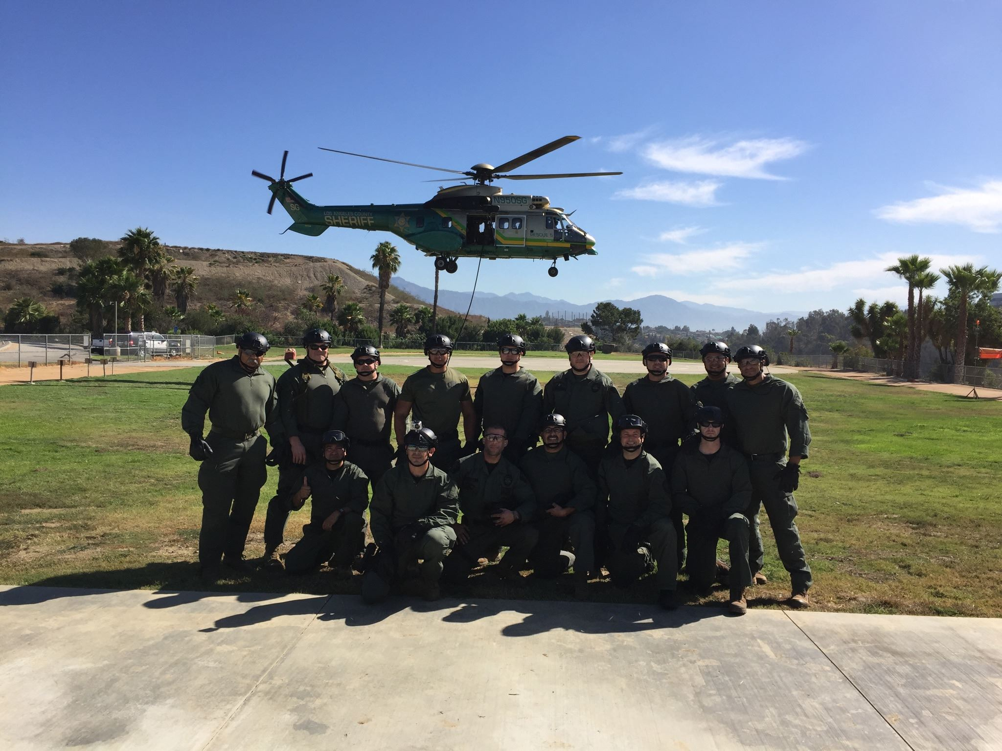 SWAT at Helicopter Day