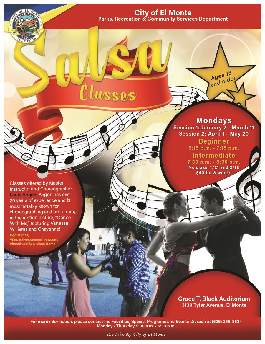 2019 Salsa Classes Flyer
