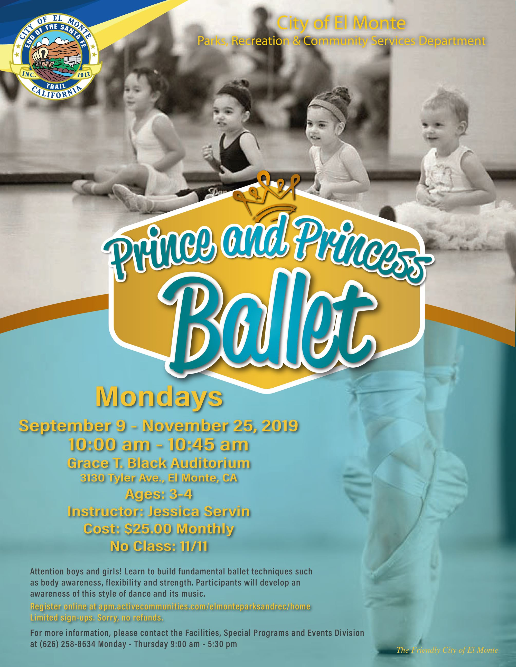 2019_Prince_Princess_Ballet_Flyer_March A-1
